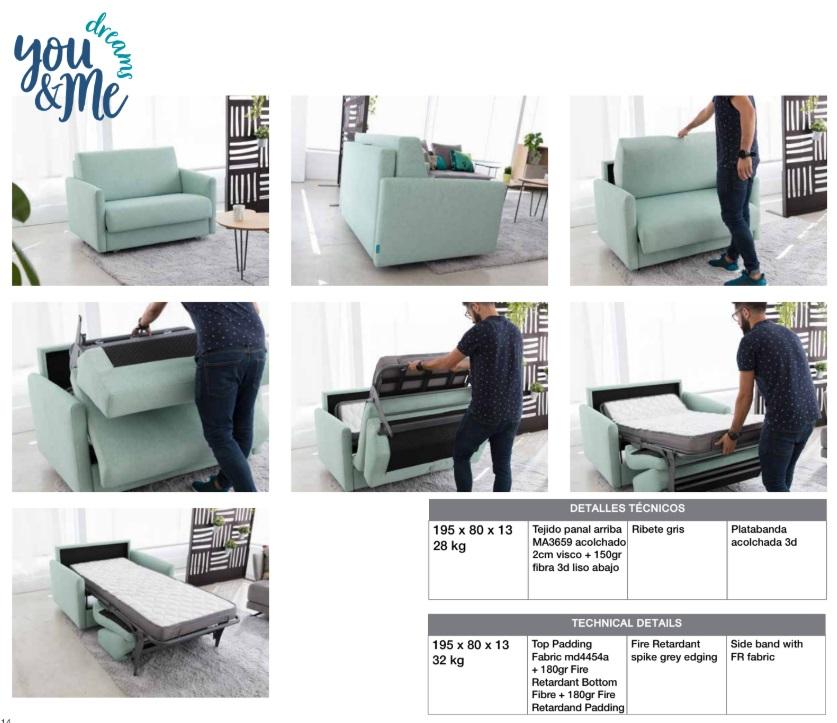 sillón cama helsinki