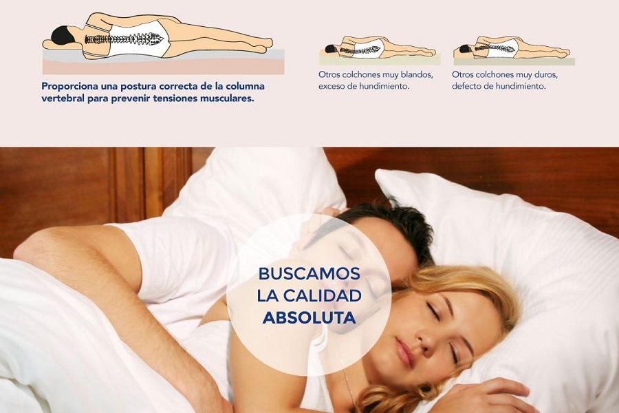 pareja durmiendo en colchom Perlasalute