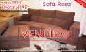 OFERTA Liquidación: Sofá de tela con Chaiselonge