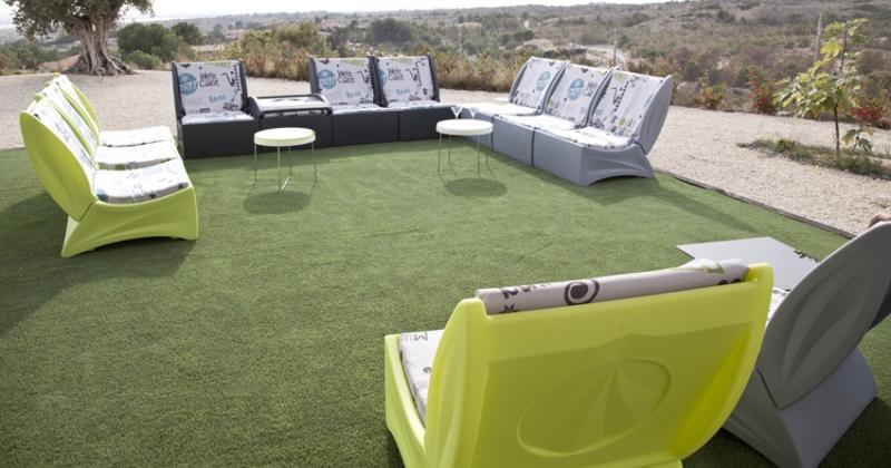 Sofa exterior arianne garden for Tela sofa exterior