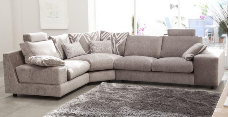 Sofa fama modelo calisto disponible en piel o tela en madrid - Sofas de tela ...