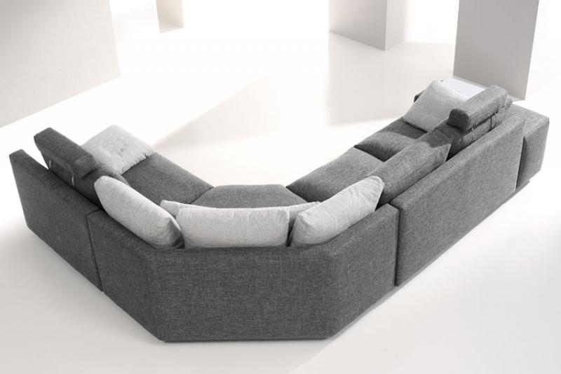 Sofa fama modelo calisto disponible en piel o tela en madrid - Tipos de telas para sofas ...