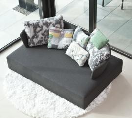 Sofá de tela Modelo MyCube Fama