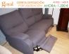 Liquidación: Sofá de 3 plazas  con 2 asientos Relax Motor