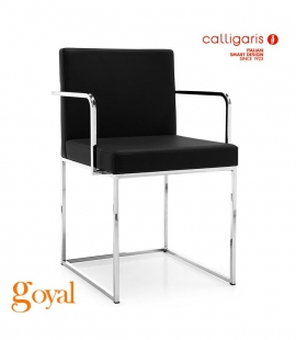 Silla EVEN PLUS con brazos Calligaris