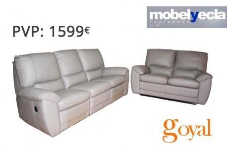 Sofá 3 plazas + 2 Plazas modelo OMEGA Mobel Yecla