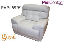 Sillón Relax Eléctrico modelo BUGATTI Piel Confort