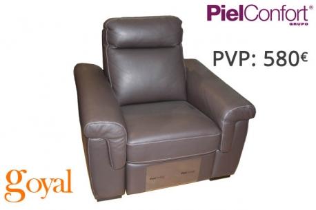 Sillón Relax Eléctrico modelo RAYO Piel Confort
