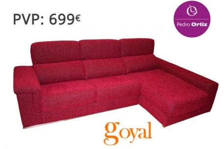 Sofa de 3 plazas con chaiselongue modelo thomas pedro ortiz - Pedro ortiz precios ...