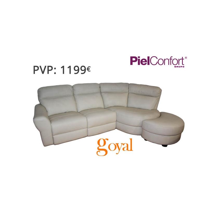 Sofa de 3 plazas modelo moon piel confort for Sillones piel confort