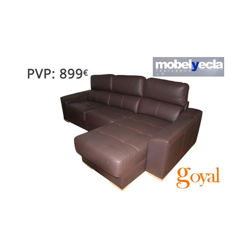 Sof 3 plazas chaiselongue modelo lidia mobel yecla - Mobel yecla ...