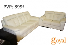 Sofas conjunto 3 y 2 Plazas modelo UNICO