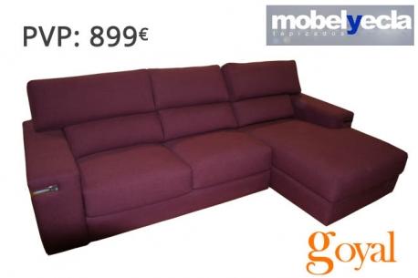 Sof 3 plazas modelo croma mobel yecla - Mobel yecla ...