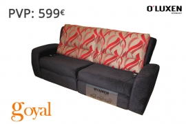Sofá 3 Plazas con 2 Relax Eléct. MONTREAL O´LUXEN