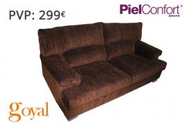 Sofá 3 Plazas modelo MORGAN Piel Confort