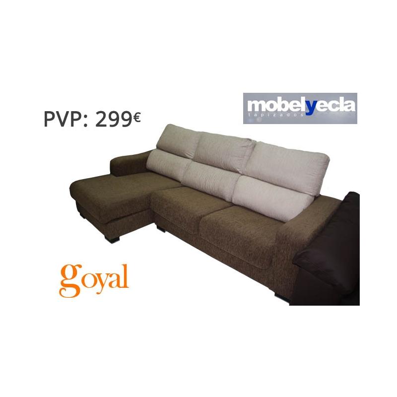 Sof 3 plazas modelo unico mobel yecla - Sofas de yecla ...