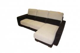 Sofá 3 Pl + Chaislongue modelo HABANA Piel Confort