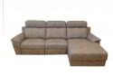 Sofá con 2 asientos motor + Chaiselonge  ARIS