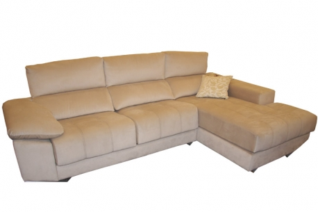 Sofa 3 plazas + Chaiselongue modelo Bombay