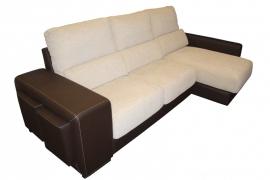 Sofá con Chaislongue modelo HABANA