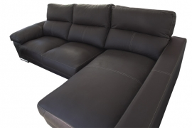 Sofa con Chaiselongue modelo Único