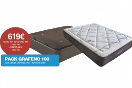 Pack Grafeno 100 : Colchón + Canapé