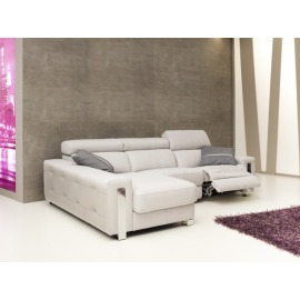 Sofá Chaiselonge de Piel Modelo Dubai Pedro Ortiz