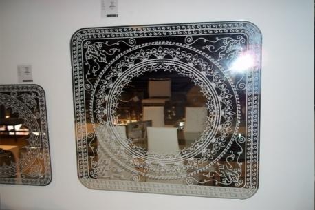 Espejo Damasco de Calligaris