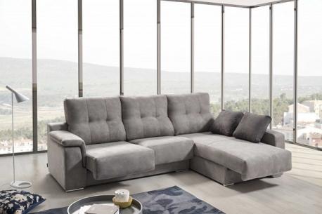 Sofá relax con chaiselongue Air