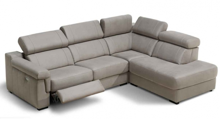Sofa enzo de piel confort con audio for Sofas gran confort