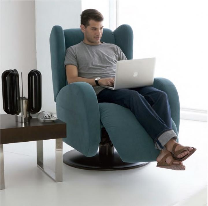 Sill n relax modelo llanes tajoma for Sillon relax conforama