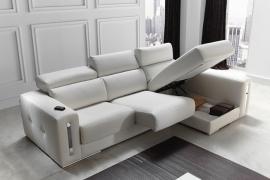 Sofá de Piel Sabrina Pedro Ortiz