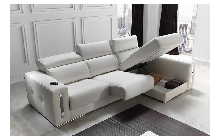 Sofas chaiselongue modelo sabrina de pedro ortiz - Sofas en piel disenos italianos ...