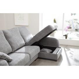 Sofá de Tela modelo Hugo Fama
