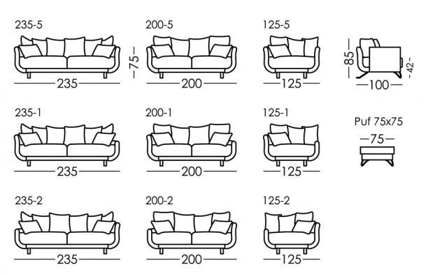 croquis sofa lexus