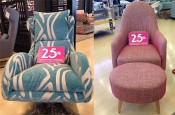 Rebajas de verano en sofás sillones y mesas