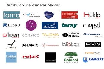 Distribuidor oficial de las mejores marcas del sector del sofá