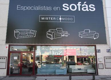 Tiendas de sof s en madrid for Sofas madrid outlet