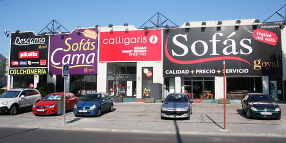 Tiendas de sof s en madrid - Outlet telas madrid ...